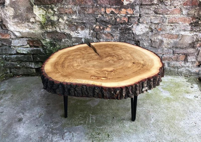 Drewniany stolik na zamówienie
