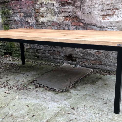 stolik z nogami metalowymi warszawa
