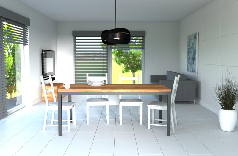 Stół drewniany do kuchni