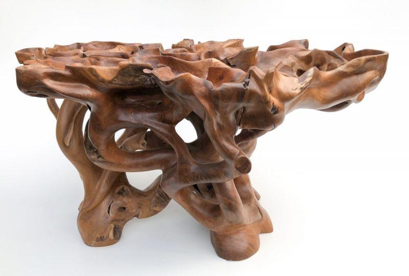unikatowy egzotyczny stolik