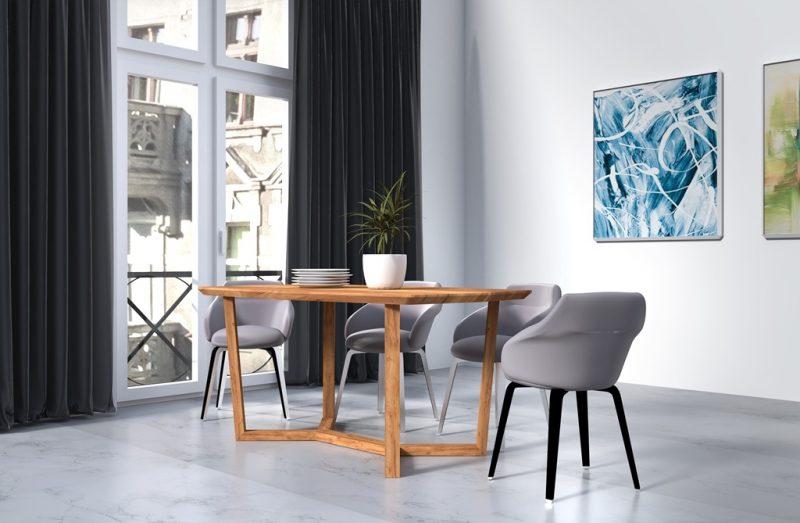 Stół drewniany Rio o nowoczesnej i eleganckiej stylistyce