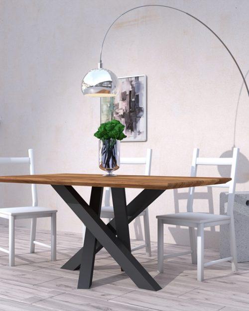 Stolik z metalowymi nogami warszawa