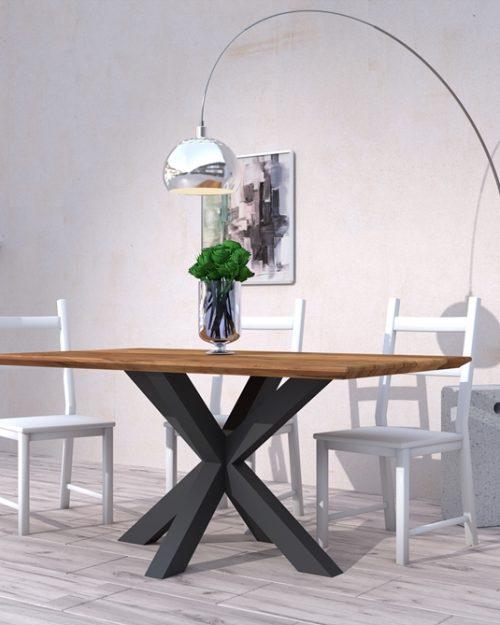 Stół drewniany w stylu nowoczesnym