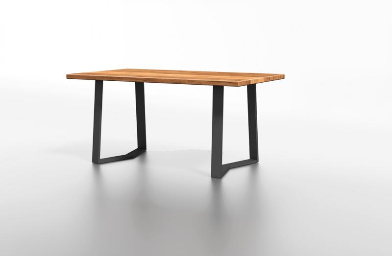 Drewniany stół z metalowymi nogami na zamówienie warszawa