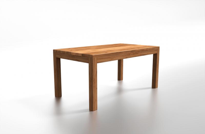Nowoczesny stolik z drewna do jadalni