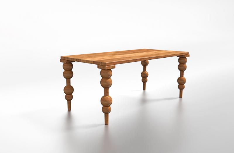 Stół naturalne drewno