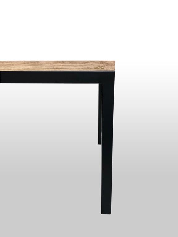 Metalowa noga od drewnianego stołu Trust