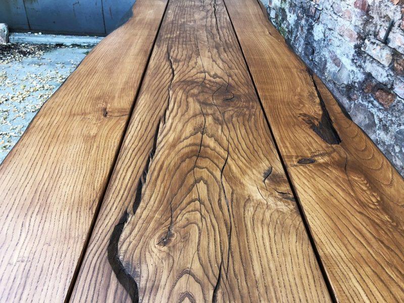 Stół drewniany na taras