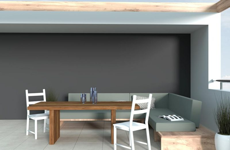 Stół do ogrodu z drewna