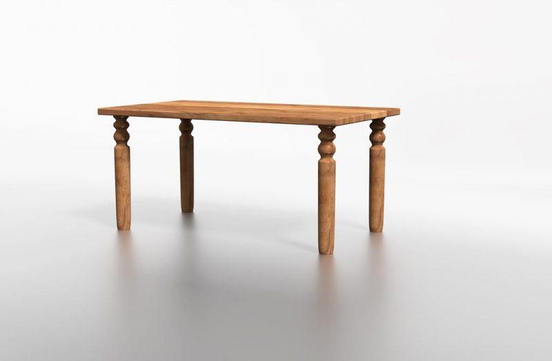 Dębowy stół do mieszkania warszawa